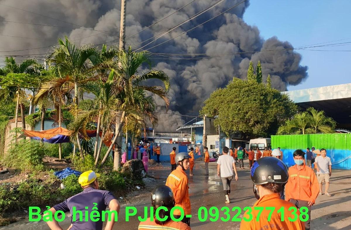 Mua bảo hiểm cháy nổ cho công ty