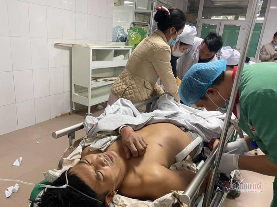 Sự cố rơi thang máy kinh hoàng ở Nghệ An