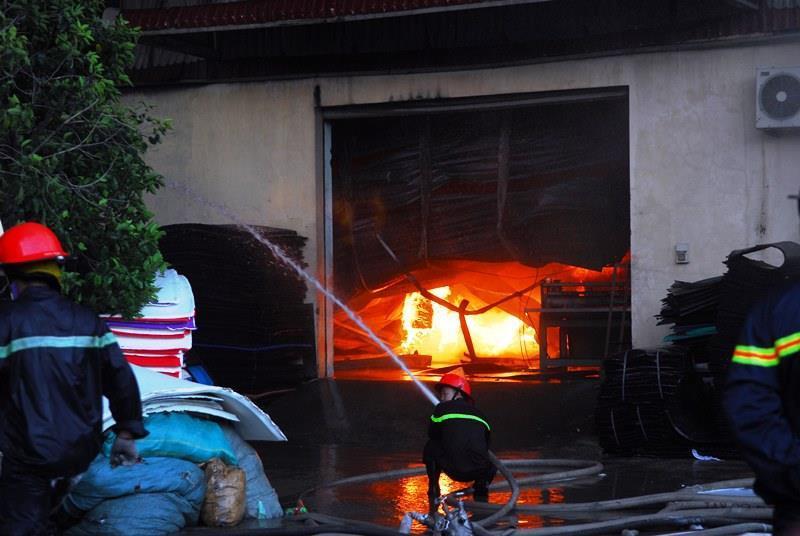 Bảo hiểm cháy nổ bắt buộc nhà máy giầy