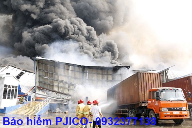 Bảo hiểm cháy nổ kho hàng ở vũng tàu