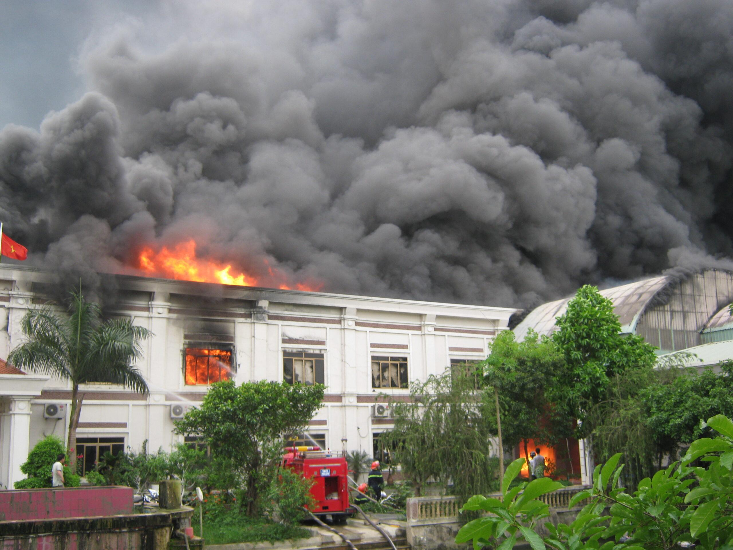 Bảo hiểm cháy nổ nhà xưởng nhựa