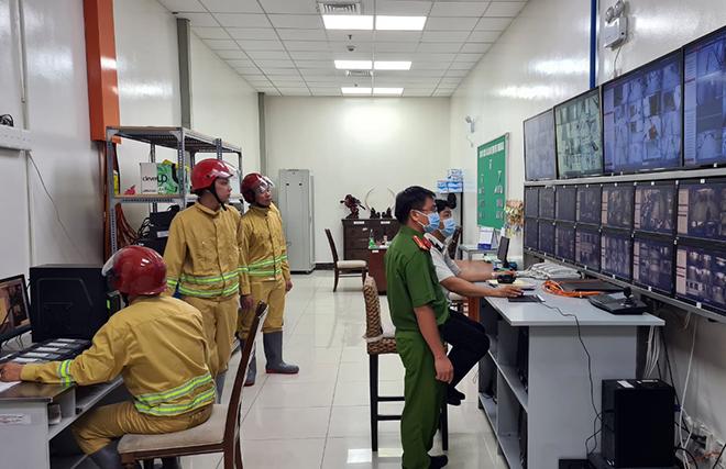 Công an Đồng nai kiểm tra công tác pccc
