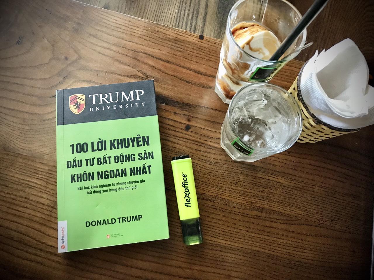 100 lời khuyên bất động sản khôn ngoan nhất 4 - Tác giả Donald Trump