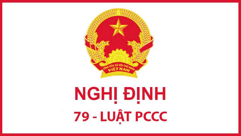 Nghị định 79 về pccc